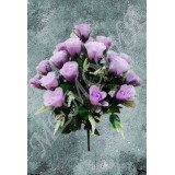 Букет бутонов роз с сеткой 18г  н=50 см (1961102.1.С)
