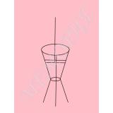Каркас Ваза (2 кольца + ось) 125*37 см (30в.2.В)