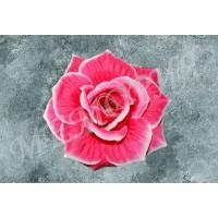 Насадка роза шёлк Капуста малая Н=12.5 см (уп 20 шт) (н541283.1.Н)