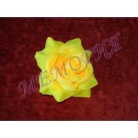 Насадка Роза малая шелковая d=9,5 см (уп 30шт) (н541282.1.Н)
