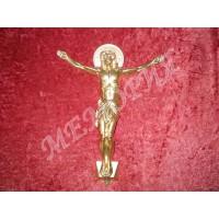 """Крест на гроб """"Распятие"""" № 10 (Н=28 см) (196757.1.Н)"""